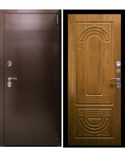 Входная дверь Аргус Термо Композит (орех) Терморазрыв